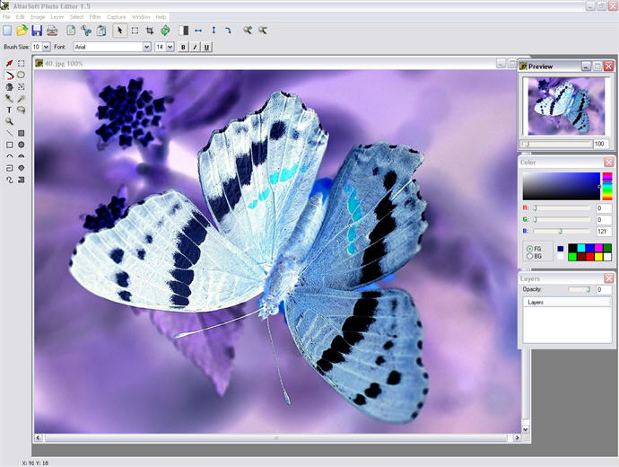 Altarsoft Photo Editor 1.51